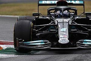 F1イタリア予選速報:ボッタス、意地の最速タイム! メルセデスがフロントロウ独占