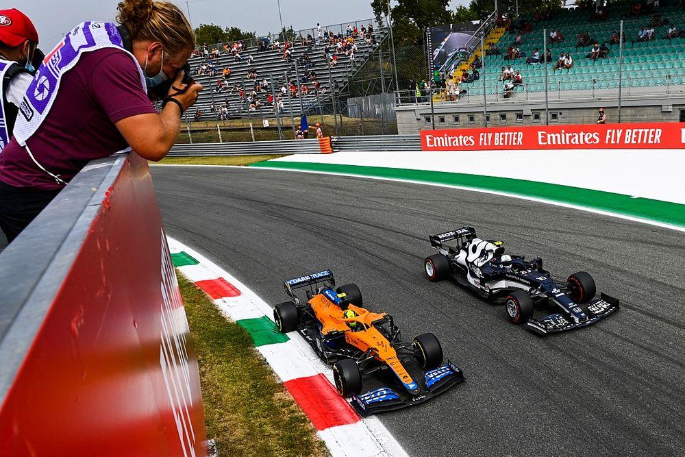GALERÍA: mejores fotos del GP de Italia F1