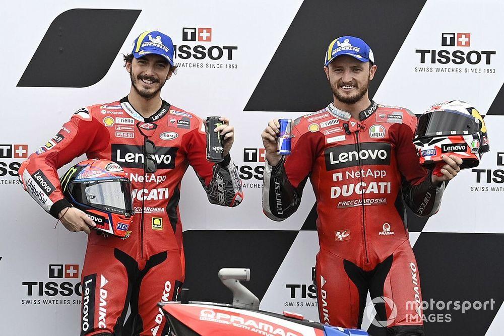 Ducati Samai Torehan Yamaha-KTM berkat Francesco Bagnaia