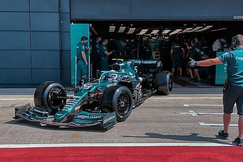 Red Bull, Aston Martin ve Haas, lastik testinin ilk gününü tamamladı