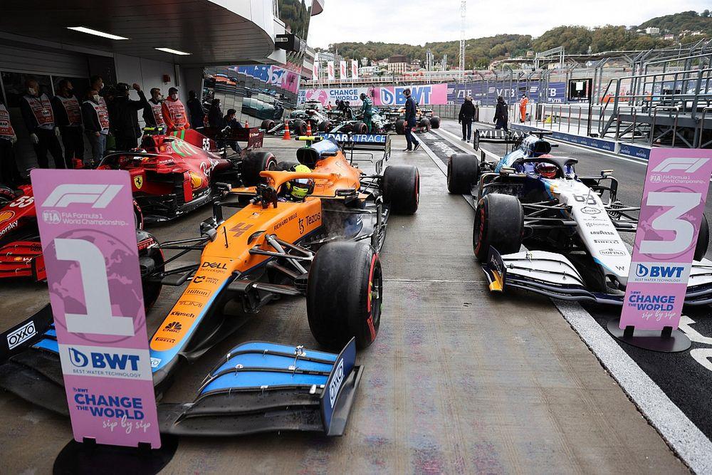 Los números que dejó el emocionante GP de Rusia de F1 2021