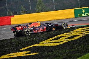 Hihetetlen: Perez összetörte az autóját, nem tud elrajtolni a Belga Nagydíjon!