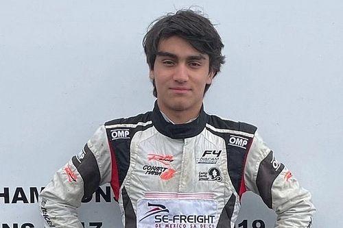 F.Regional: la Monolite Racing firma José Garfias