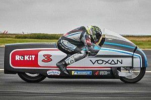 Max Biaggi en quête d'un nouveau record de vitesse avec Voxan