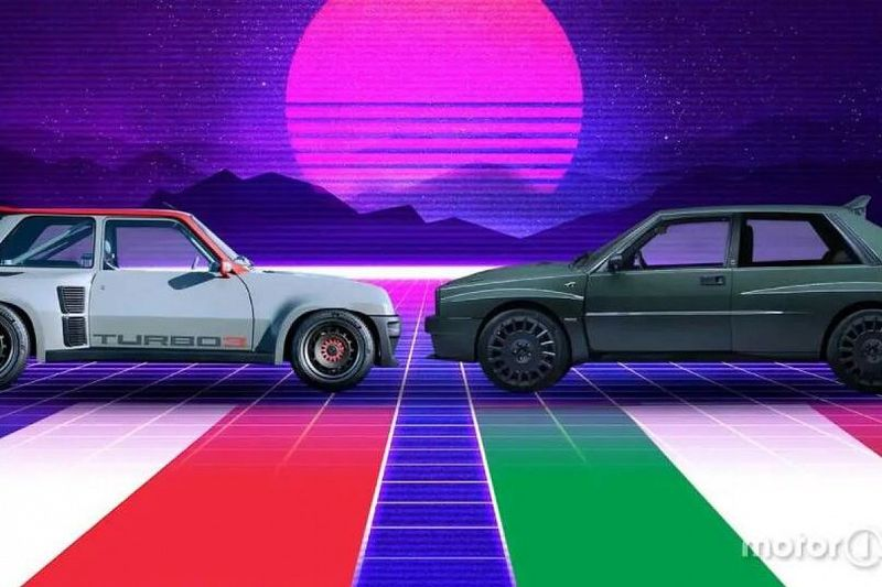 Renault 5 Turbo 3 vs Delta Futurista : deux mythes du rallye renaissent de leurs cendres