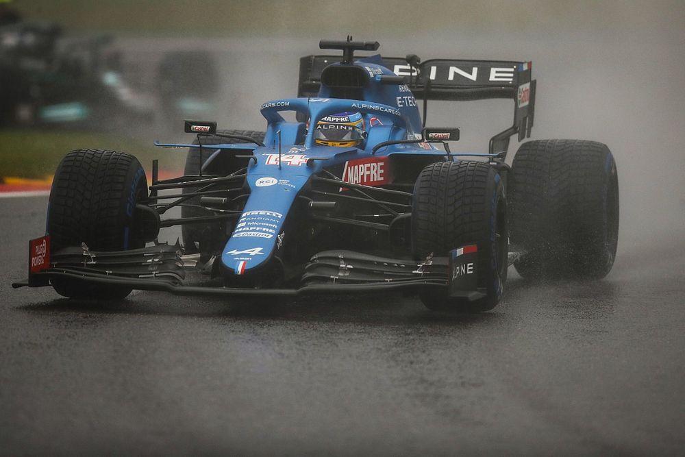 Alonso: Schokkend dat F1 punten uitdeelde voor Belgische GP