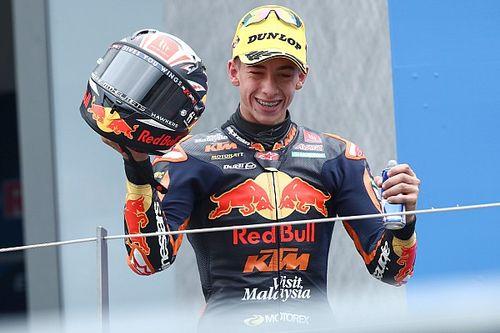 MotoGP-belofte Acosta debuteert bij KTM Ajo in Moto2
