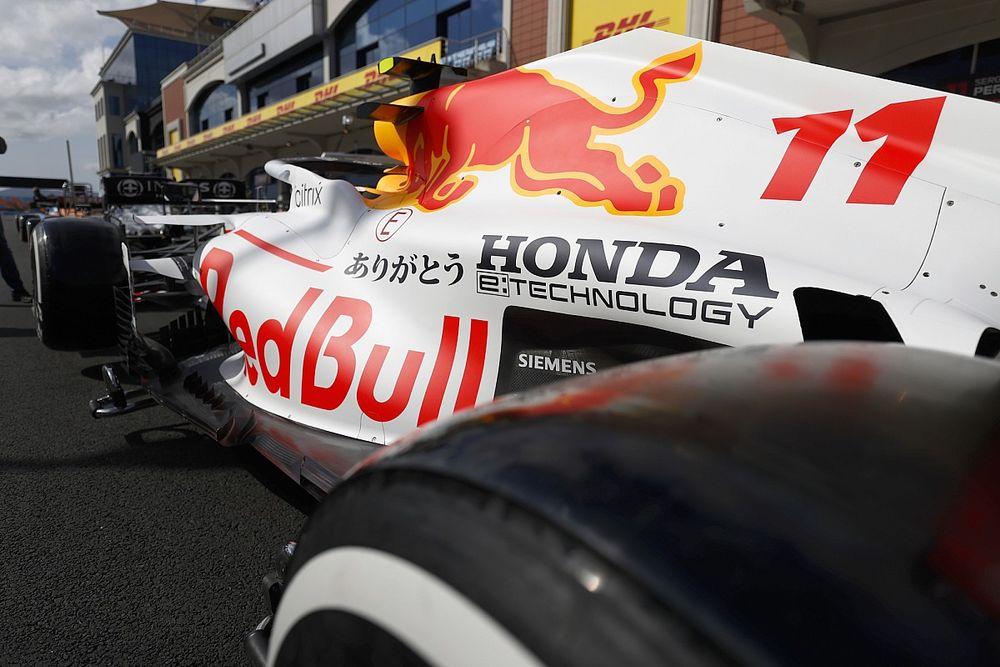 Red Bull llevará una decoración en homenaje a Honda en el GP de Turquía