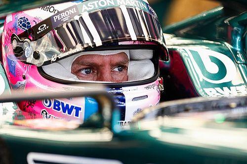 Vettel y su difícil viernes, pero con casco especial