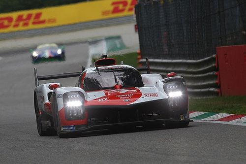 Hypercars at full WEC power level in Le Mans, Alpine pegged back