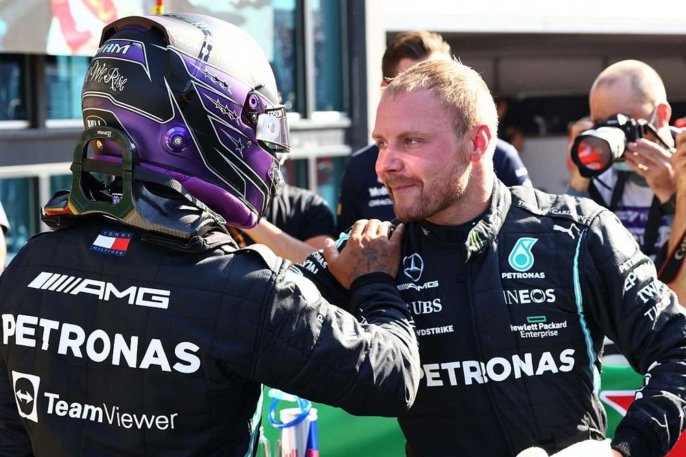 """Bottas: """"Ik ging niet voor de snelste raceronde"""""""