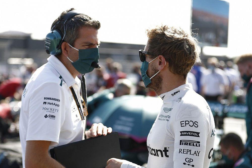 Vettel asegura no temer por su futuro en Aston Martin F1