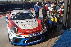 Carrera Cup Italia, Franciacorta: Caglioni al top in FP1