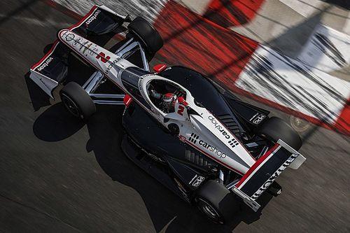 Long Beach IndyCar: Newgarden takes pole, title rivals falter