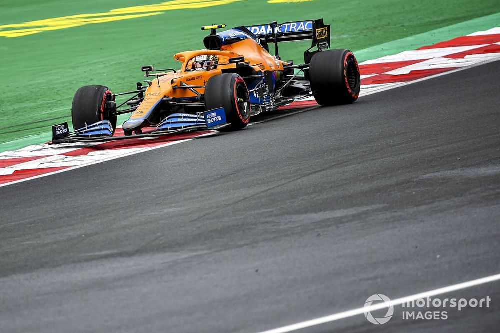 Norris: Istanbul's long corners to blame for McLaren's difficult weekend