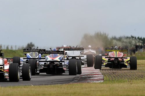 The uncertainty and opportunity of British F3's enforced identity change