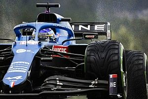 """Alonso: """"Eğer yarış ıslak zeminde geçerse Alpine için çok zor olacak"""""""