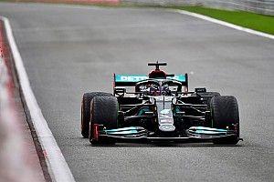 """Hamilton déplore une Mercedes """"pas facile"""" à Spa"""