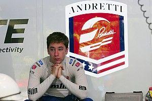 ロビン・フラインス、アンドレッティのインディカーをテスト
