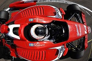 Rosenqvist completes Friday practice clean sweep on Lights debut