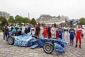 Formula E marks Earth Day with special iceberg livery