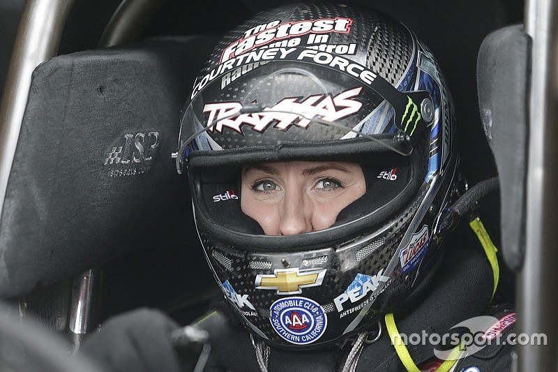 Courtney Force takes first Funny Car win since 2014