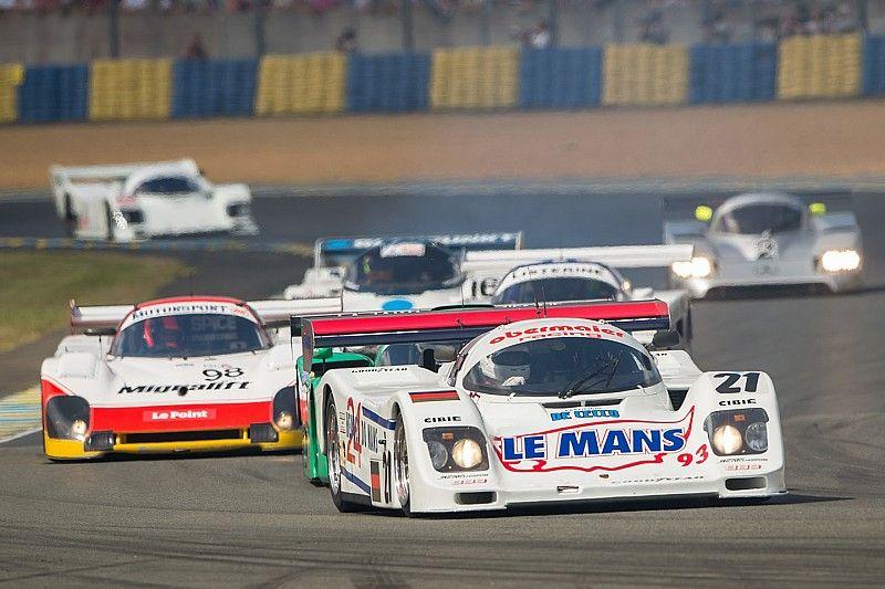 Lammers aan de start in 2018-editie Le Mans Classic