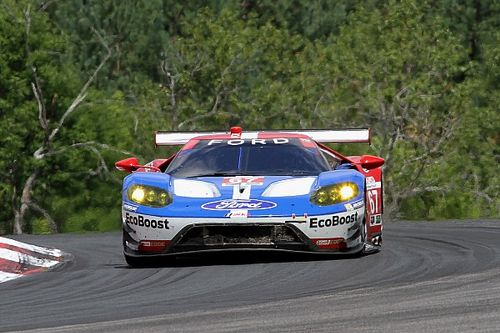 Ford GT wins desperately tight pole battle
