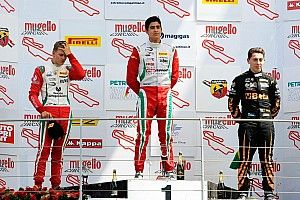 Brasileiro divide pódio com filho de Schumacher