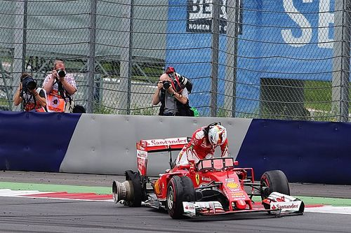 Pirelli says Vettel's tyre failure caused by debris
