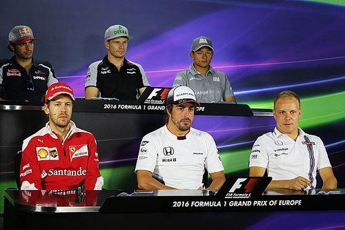 European GP: Thursday's press conference