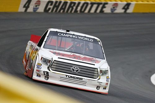 15th place for Cameron Hayley in Charlotte Truck race