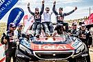 Cross-Country Rally İpek Yolu Rallisi'nde Peugeot ve Despres zafere uzandı