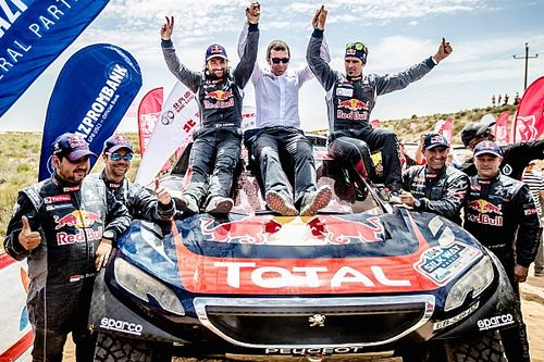 Peugeot and Despres victorious in Silk Way Rally