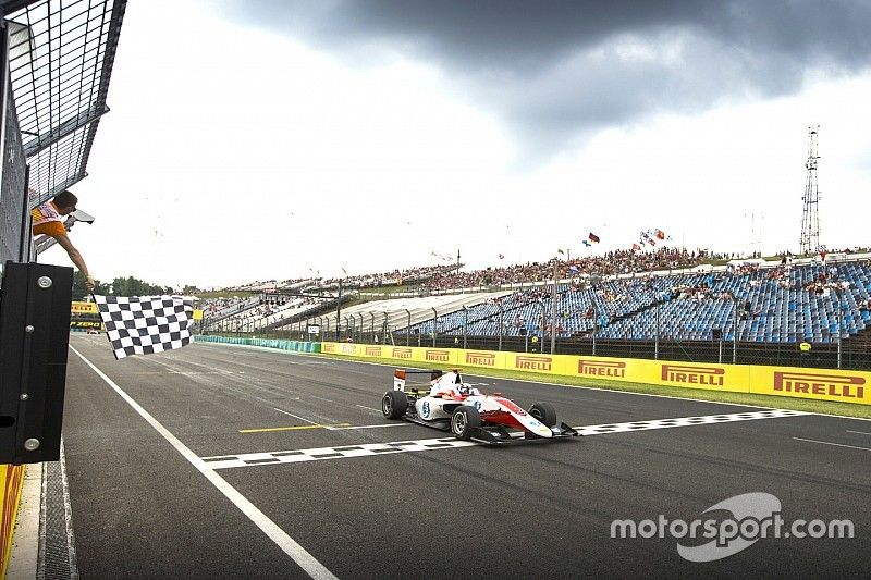 Hungary GP3: Albon takes points lead with Sunday win