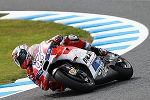 MotoGP Practice report Motegi MotoGP: Dovizioso leads Marquez in first practice