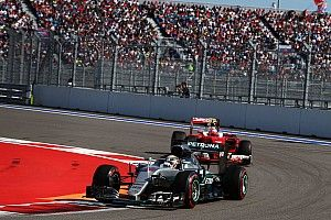 "Hamilton straight-lined Turn 2 to avoid ""commotion"""