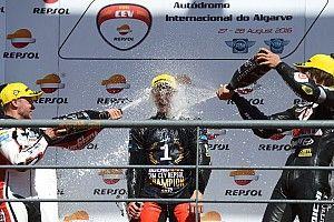 Steven Odendaal juara CEV Moto2 2016