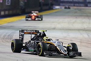 """Singapore """"one of my best performances in F1"""" - Perez"""