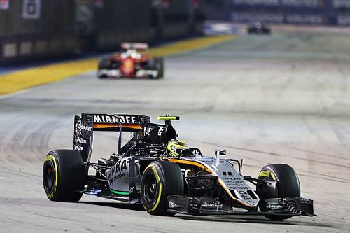 "Singapore ""one of my best performances in F1"" - Perez"
