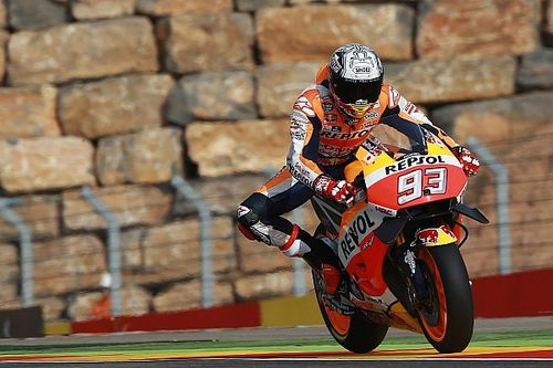 Marquez: Rear tyre drop-off could decide Aragon GP