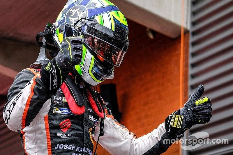 Spa NEC: Norris doubles up after epic duel with Defourny
