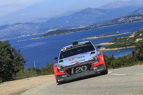 Corsica WRC: Neuville eats into Ogier's advantage