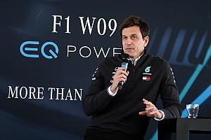 Formel 1 News Toto Wolff: Mercedes-Dominanz ist nicht unser Problem