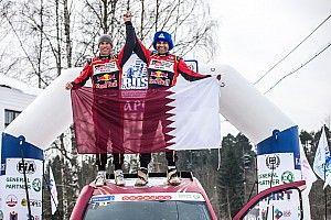 Al Attiyah reina en la nevada Baja Rusia