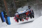 WRC Sweden WRC: Neuville leads Hyundai 1-2-3 by 4.9s