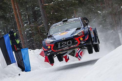 Neuville lidera un triplete de Hyundai tras el segundo día de Suecia