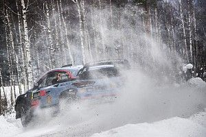 WRCスウェーデン:ヌービルがリードを拡大。ラッピは6番手に