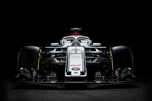 "Sauber muestra su nuevo auto F1 ""Alfa Romeo"""
