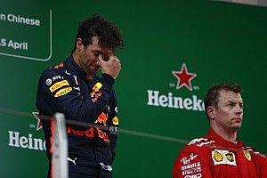 Ricciardo soha nem nyert még futamot a negyedik helyről előrébb rajtolva